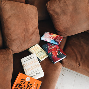 Mi selección de libros para la cuarentena...