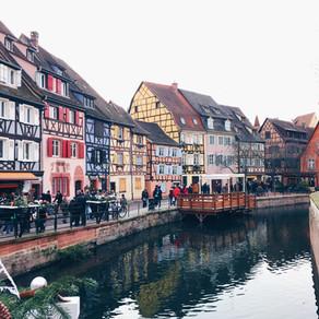 Colmar, Francia. El pueblo más colorido de Alsacia.