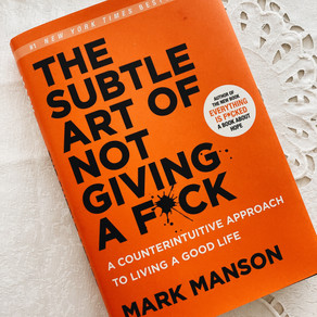 The Subtle Art of Not Giving a Fuck +Book Review + Cheatlist
