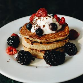 Pancakes de yoghurt griego 🥞