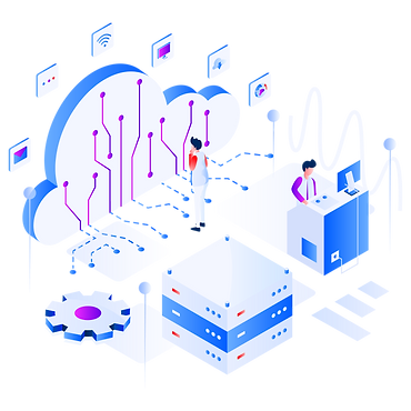—Pngtree—internet of things isometric il