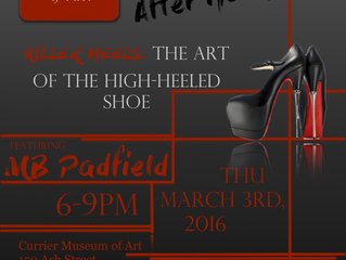 """MB Rocks The """"Killer Heels"""" Event at Currier Museum of Art"""