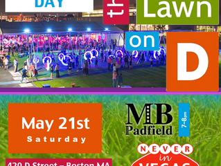 MB Opening Boston's LAWN ON D on May 21st with Never in Vegas