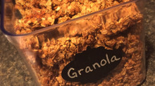 Amazing homemade clumpy, crunchy granola to make with kids