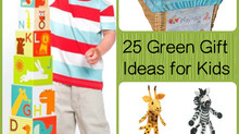 Eco-friendly toys for little kids #GoGreen #HolidayGiftIdeas