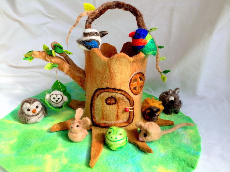 Tree Stump House Workshop