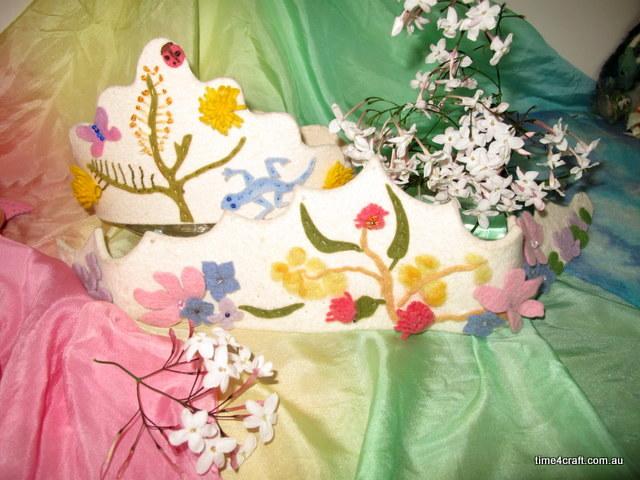 Spring Crown Workshop