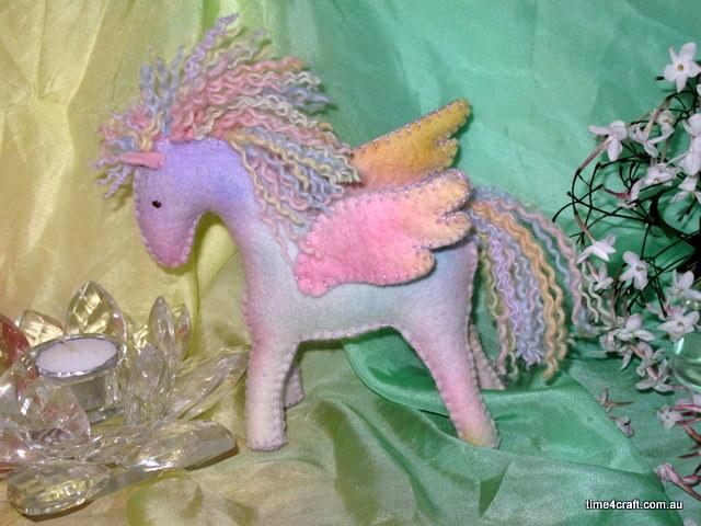 Rainbow Pegasus Workshop