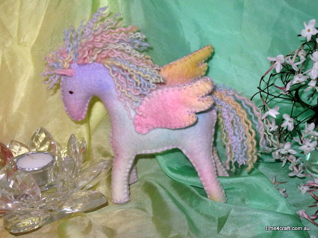 Rainbow Pegasus Workshop