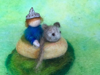 Holiday felting craft workshop -Wool, Wood & Wonder