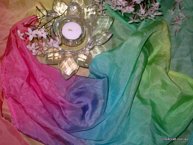 Rainbow Silk Workshop