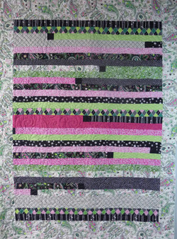 Charity Quilt string quilt