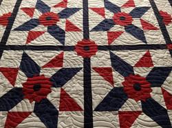 MAllen Patriotic quilt