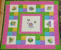 Butterfly Baby Quilt 2