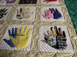 CHennessey Hands quilt