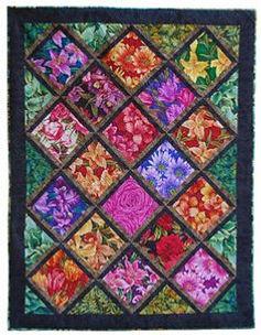 multicolored quilt