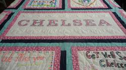 Chelsea Quilt Name Block