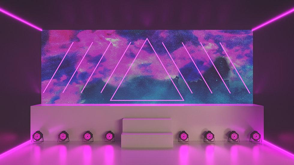 Music Video Backdrop