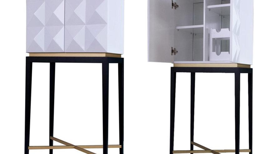 Rockstud Bar Cabinet