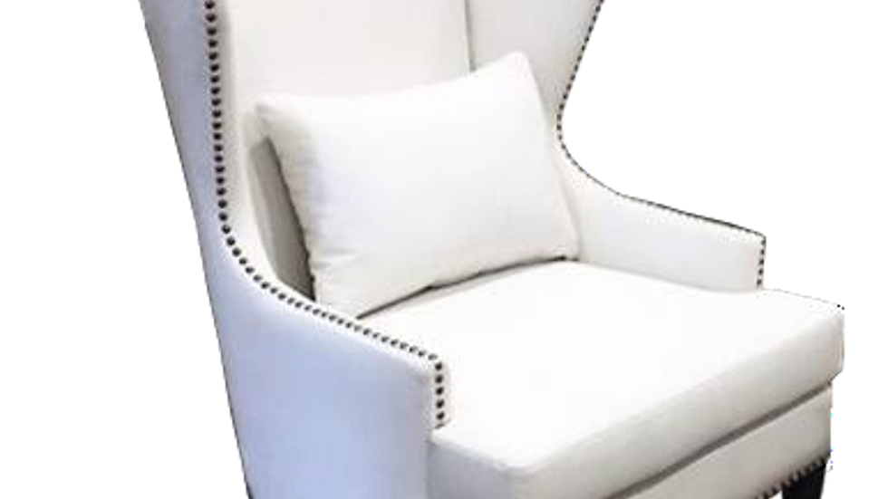 Lenox Wing Chair w/ Foot Stool
