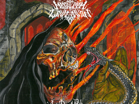 Megalith Levitation — Acid Doom Rites (2019, Hymns of Apocalypse/addicted label)