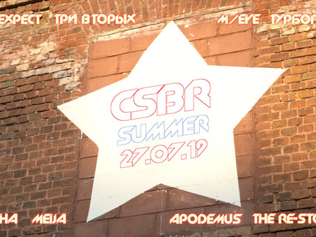CSBR Summer 2019. Отчет