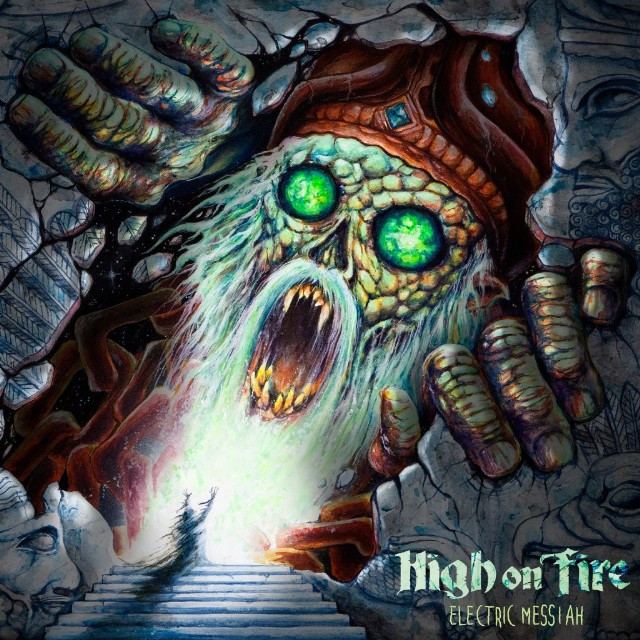 High On Fire — Electric Messiah (art by Davis Skinner)