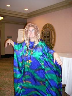 Connie as Voodoo Priestess