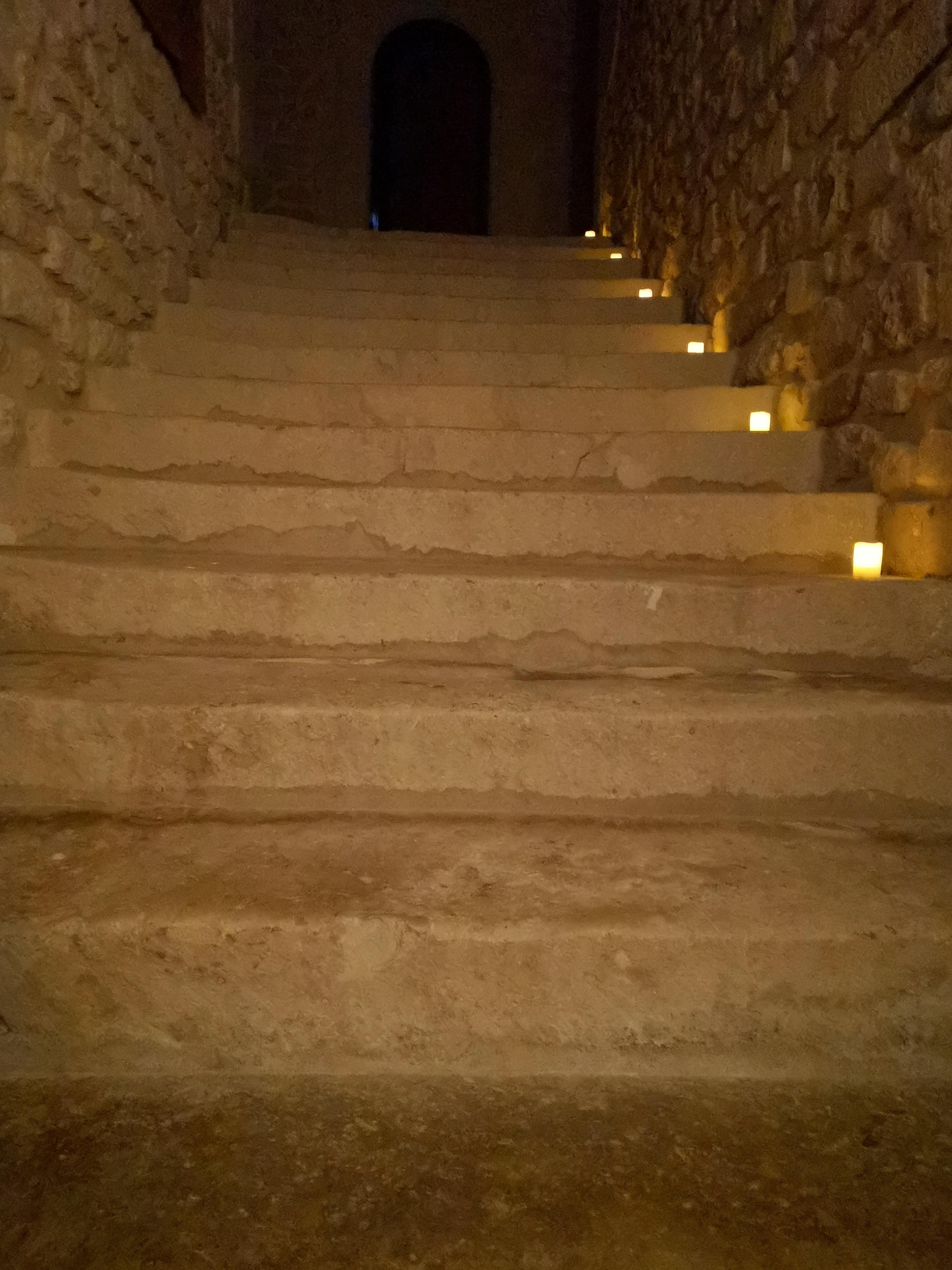 escalier du rez de chaussée