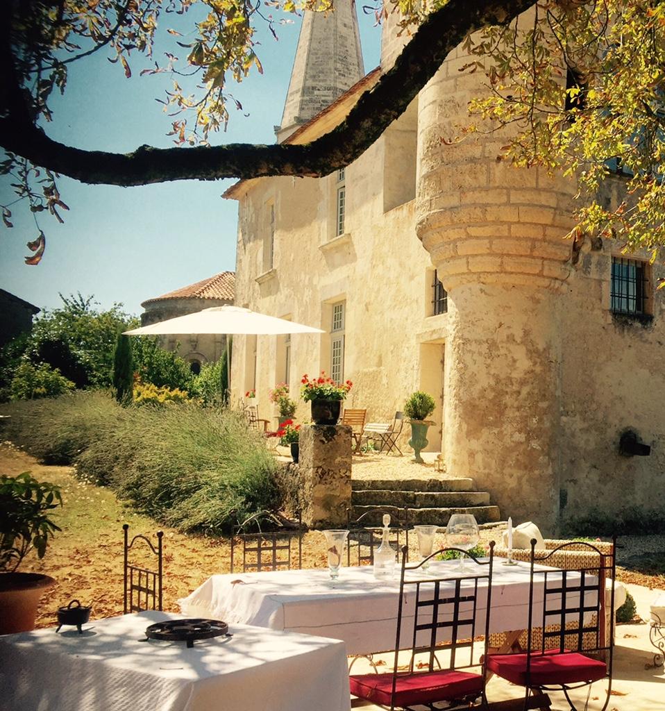 2ème terrasse du Château