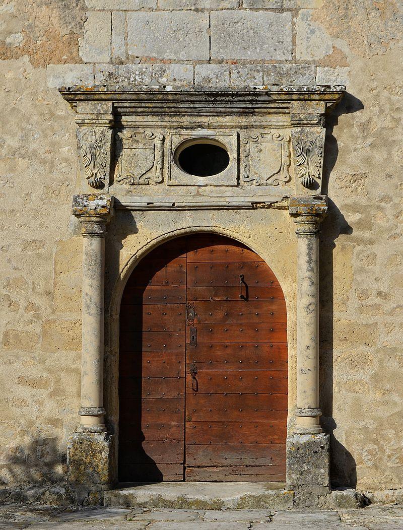 porte et façade Classé Monument Hist