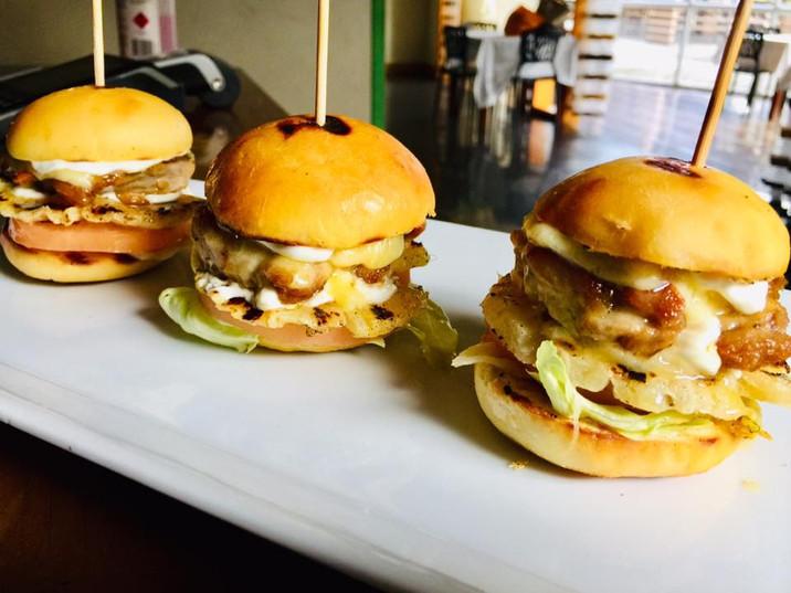 Tiny Trio Burgers