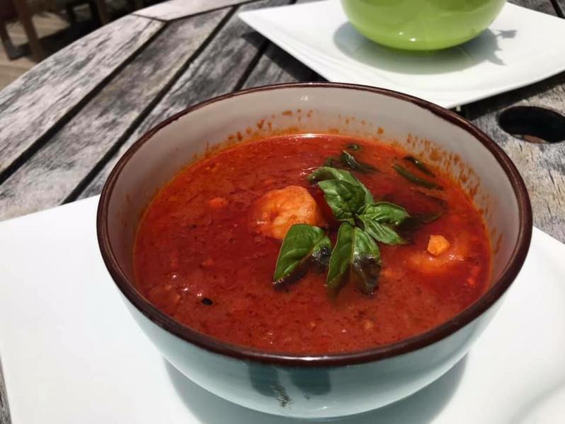 Tomota Prawn Soup