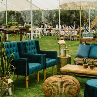 Mediterranean resort wedding