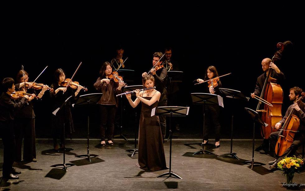 Leopold Hoffmann flute concerto. Photo: Jan Hordijk