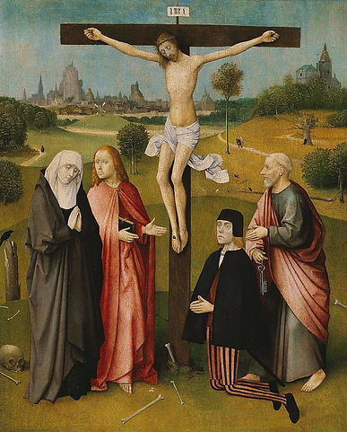 hieronymus-bosch-crucifixion-with-a-dono