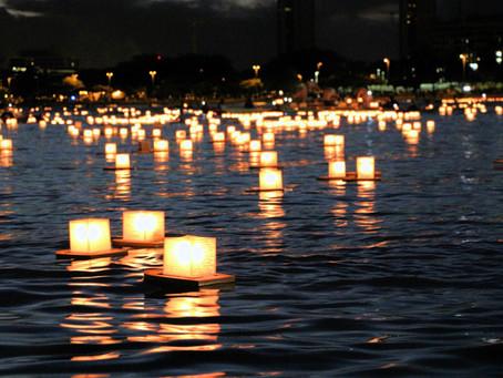 Memorial Day in Hawaii - Floating Lantern Festival in Honolulu