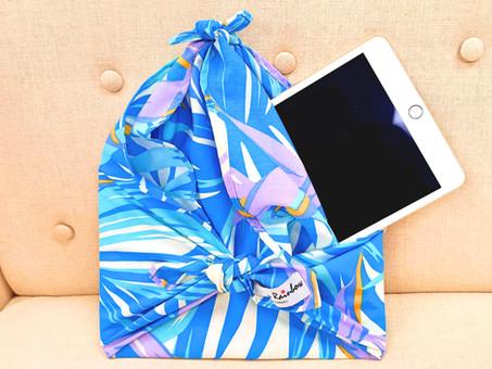 How to use Furoshiki cloth? - Carry your iPad!