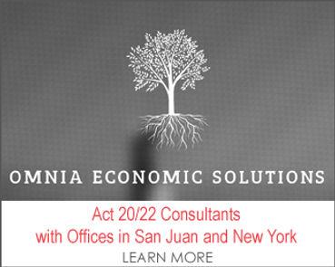 Act 20 Act 22 Puerto Rico Tax Incentive
