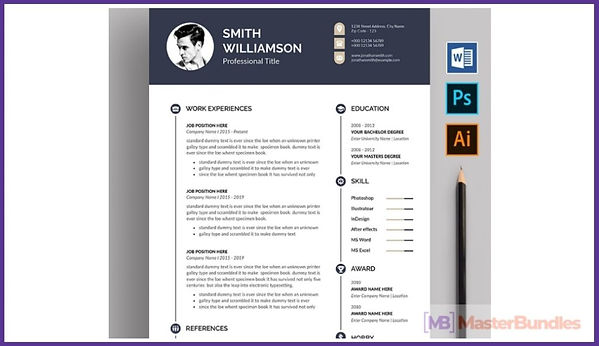 50+ Best Chronological Resume Templates in 2020: Free and Premium