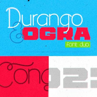 Durango & Ogra Font Duo