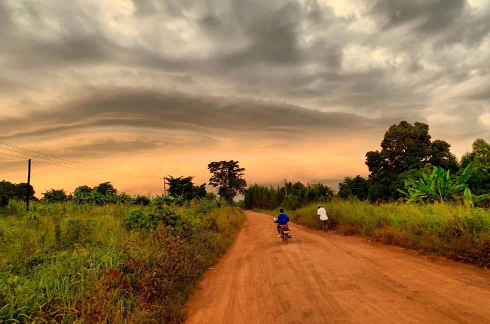 Uganda Africa Travel Sunset