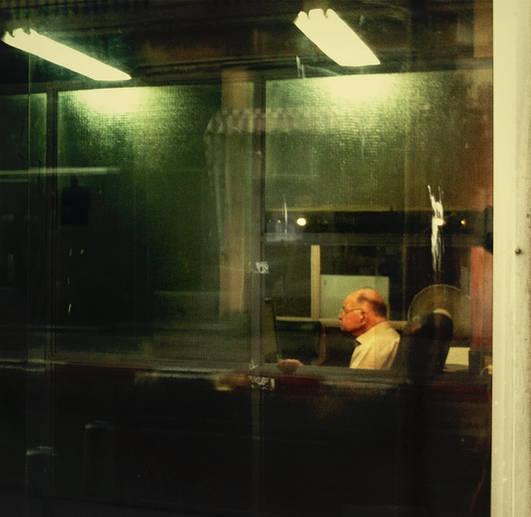 Tel aviv night photography reflection mood