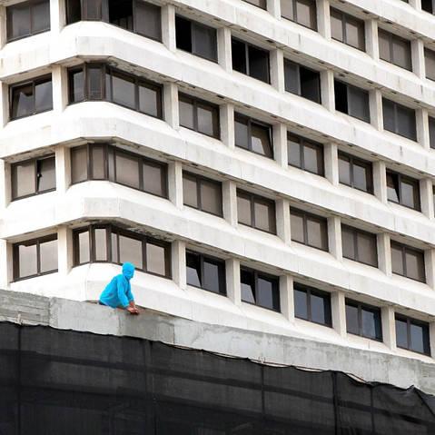 Tel Aviv architecture building city street photography