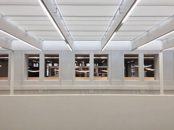 museum light white architecture building photography symmetric