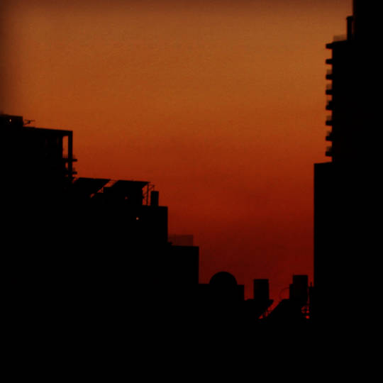 Tel Aviv architecture building city street photography red sunset