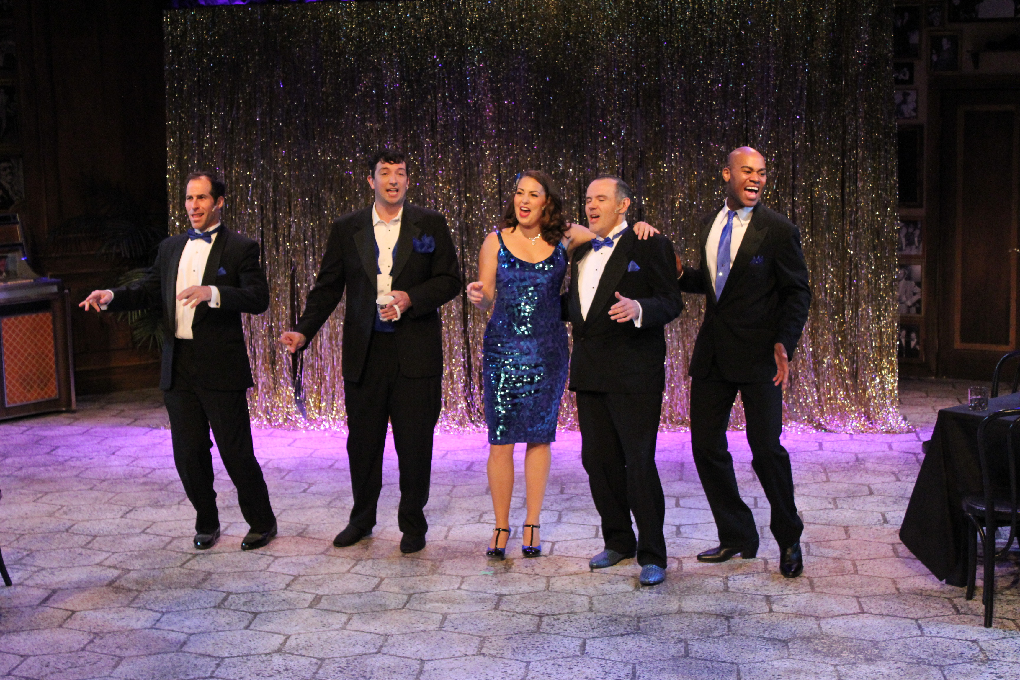 The Cast of 'The Rat Pack Lounge'