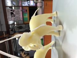 Elefante lavorato a mano