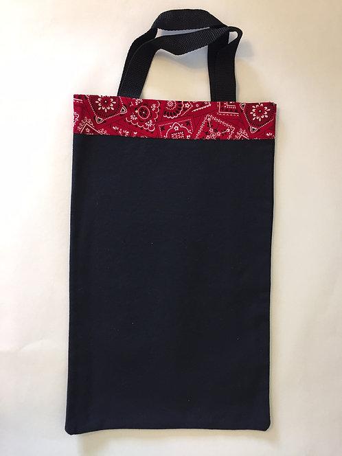Red Paisley Small Bag