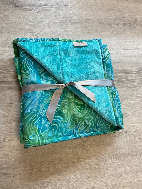 Minnows Quilted Blanket